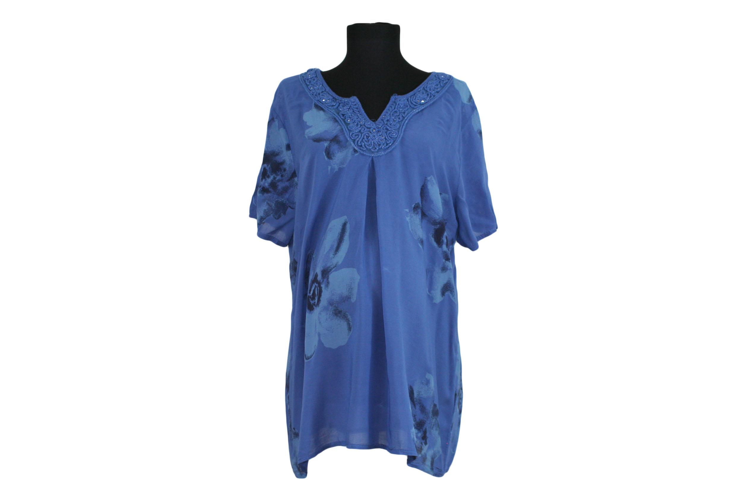 Блуза Шевица синя