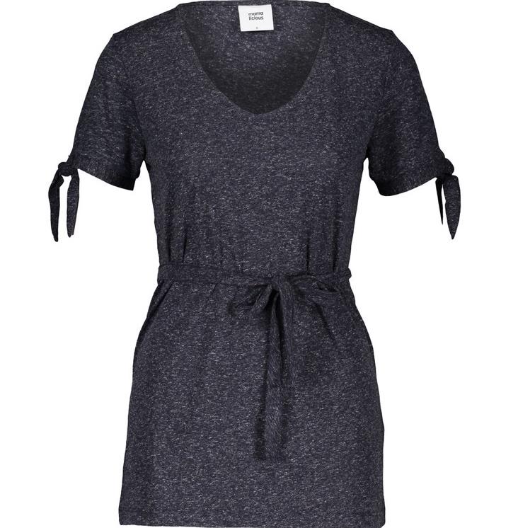 Блуза за бременни с къс ръкав