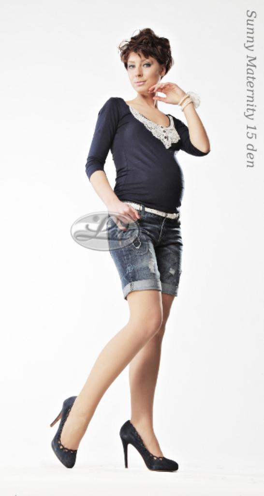 Чорапогащи за бременни 15 Ден ниска талия