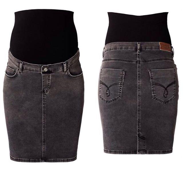 Дънкова пола за бременни Esprit